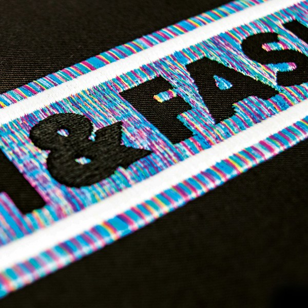 flachstick mit multi color garns 3